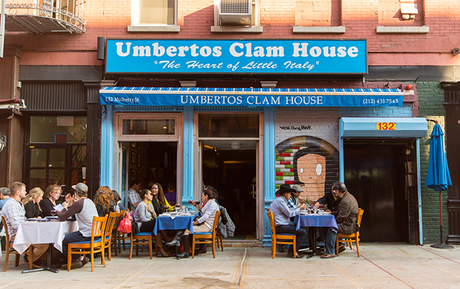 Umberto S Clams Great Italian Food